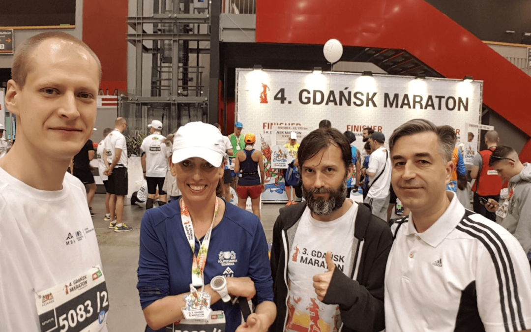 The debut of two MBA PG relays on the 4th Gdańsk Marathon!