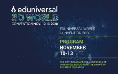 International MBA GUT Director as an expert speaker during EDUNIVERSAL WORLD CONVENTION