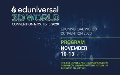 International MBA GUT Director as an expert speaker during EDUNIVERSAL WORLD CONVENTION