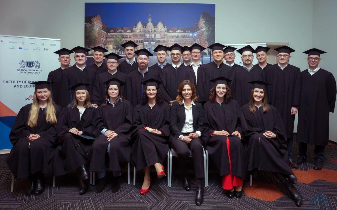Graduation ceremony of the IX MBA GUT programme