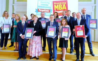 High levels maintained! – PG's MBA programme in the top ten MBA studies in Poland