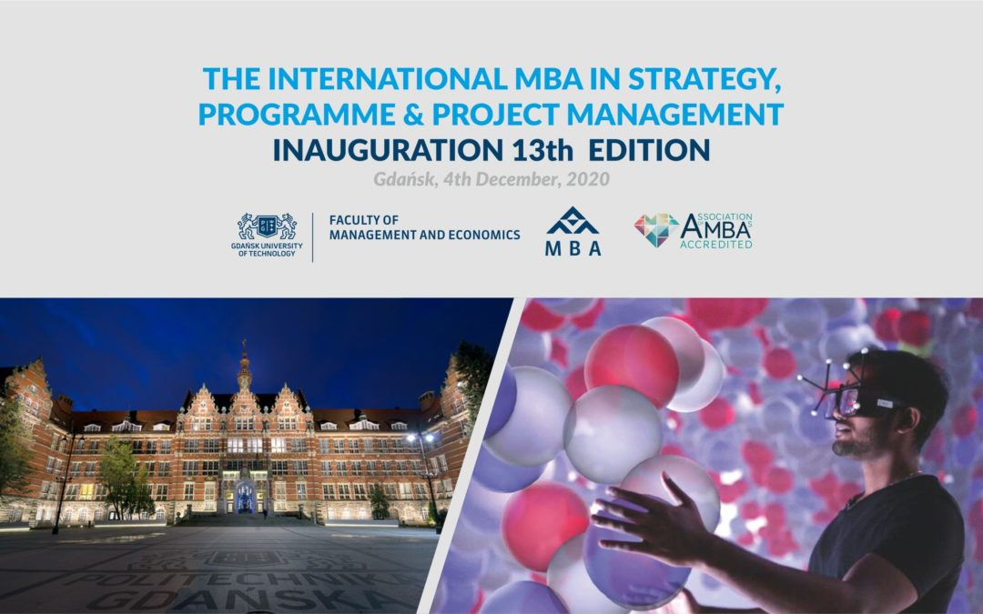 Inauguration Ceremony of the XIII MBA GUT cohort!