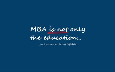 Inauguration Ceremony of two MBA Editions 2019