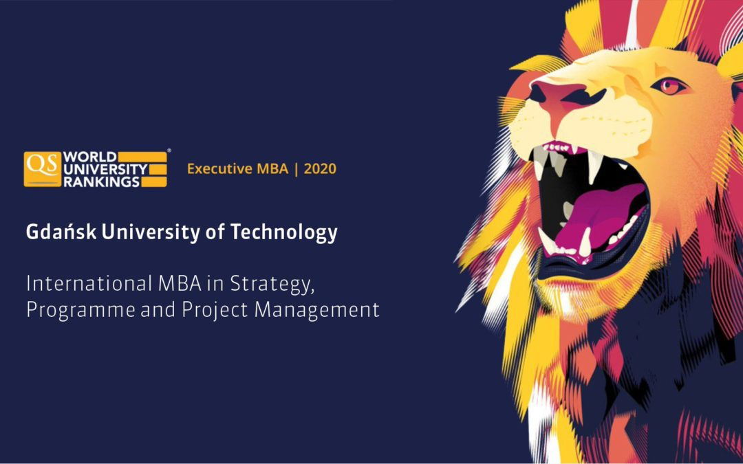 MBA GUT in QS Global EMBA Rankings 2020!